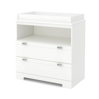 Changing Table with Storage Reevo (Pure White)
